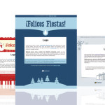 Plantillas html de email para felicitar la navidad